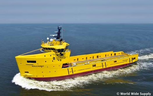 The Offshore Platform Supply Vessel, World Peridot