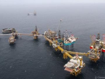 ConocoPhillips Offshore Ekofisk Platform, Norwegian North Sea