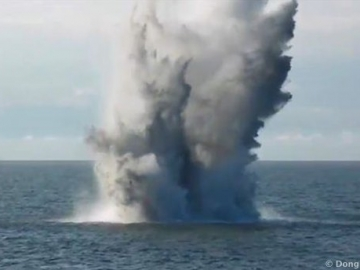 Dong Energy Exploding WW2 Bombs At Its Offshore Wind Farm Site