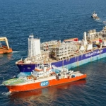 Offshore Oil Floating Production Storage Offloading Vessel, EnQuest Producer, North Sea