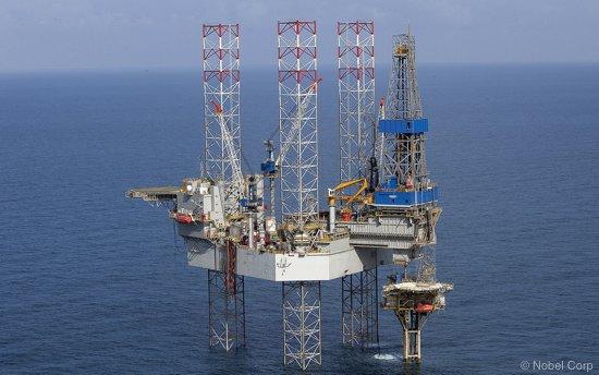 A Nobel Offshore Jack-up Drilling Rig