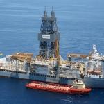 Offshore Drillship, Pacific Santa Ana, Gulf of Mexico