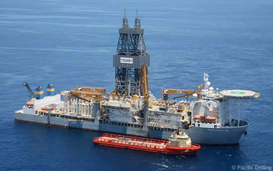 Offshore Drillship, Pacific Santa Ana, Gulf of Mexico