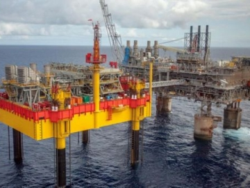 Shell Offshore Gas Platfrom, The Malampaya