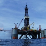 The Songa Trym Offshore Semisubmersible Drilling Rig