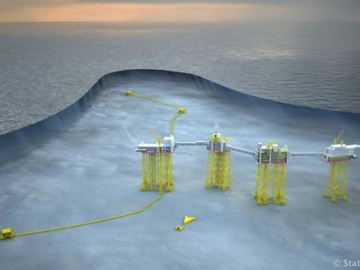 Statoil's Giant Offshore Oil Field Johan Sverdrup Field Center