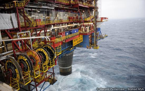 Offshore Chemical Leak At Statoil North Sea Gullfaks Gas Platform Subsea Wet Gas Compressor