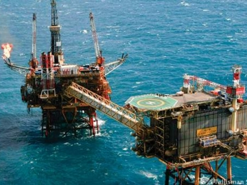 Talisman Sinopec Offshore North Sea Claymore Platform