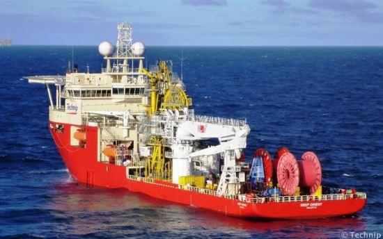 Technip Flexible-Lay Construction Vessel Deep Orient