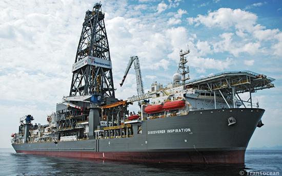 Ultra Deepwater Drillship The Transocean Deepwater Inspiration