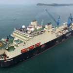 Saipem's Giant Offshore Pipelay Vessel CASTORONE