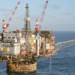CNR Offshore Ninian Central Oil Platform, UK North SeaCNR Offshore Ninian Central Oil Platform, UK North Sea