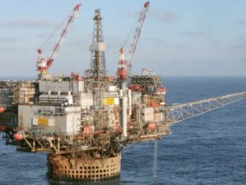 CNR Offshore Ninian Central Oil Platform, UK North SeaCNR Offshore Ninian Central Oil Platform, UK North Sea
