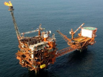ENI Offshore Gas Platforms Congo