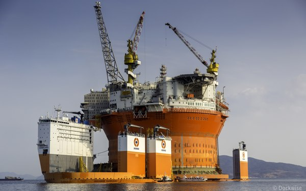 ENI Offshore Goliat FPSO, Transported On The Dockwise Vanguard