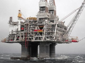 ExxonMobile Giant Hibernia Offshore Oil Platform
