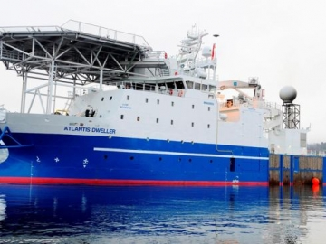 Fugro's Offshore Subsea Construction & Inspection Vessel Atlantis Dweller