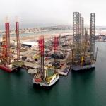 Lamprell Hamriya Jackup Rig Fabrication Yard, UAE