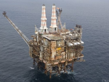 Second Offshore Gas Leak On Marathon Oil Offshore Brae Alpha Platform UK North Sea