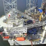 Noble Corporation's Offshore Drilling Jackup Rig Tom Prosser