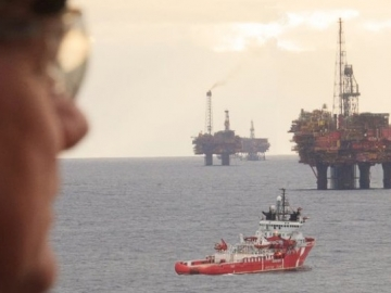 The Sun Is Already Setting On Shell's Giant Brent Field, UK North Sea