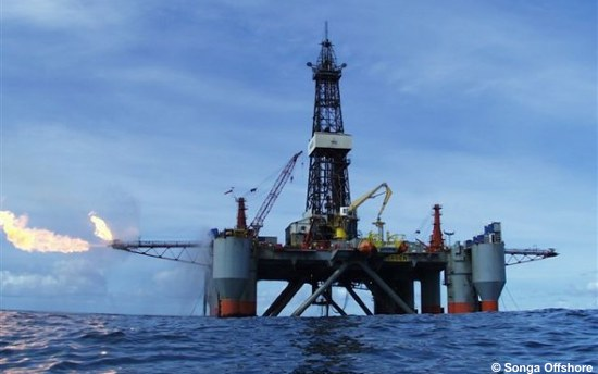 Songa Offshore Semisubmersible Drilling Rig