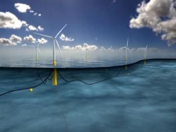 Statoil's Hywind Floating Offshore Wind Farm, Scotland