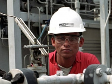 Wood Group Oil And Gas Worker