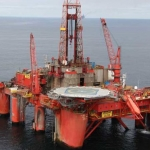 Dolphin Drilling Offshore Semisubmersible Rig Borgland Dolphin