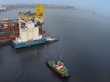 The Eide Barge 33 Broke Free From Its Towline Causing The Shutting Down And Evacuation Of Multiple Offshore Oil And Gas Platforms