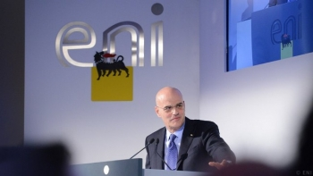 ENI CEO Claudio Descalzi