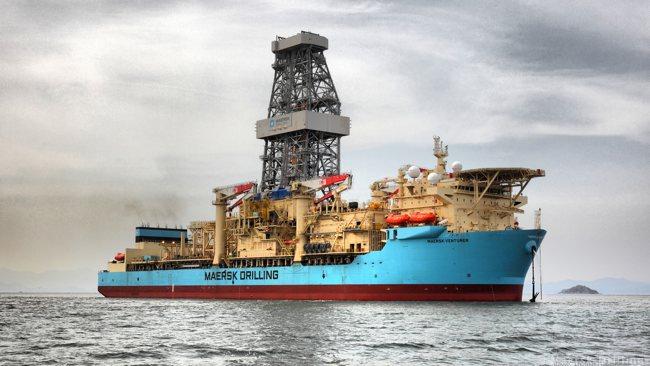 Offshore Drillship Maersk Venturer