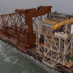 Marathon Oil Alba B3 Gas Compression Platform