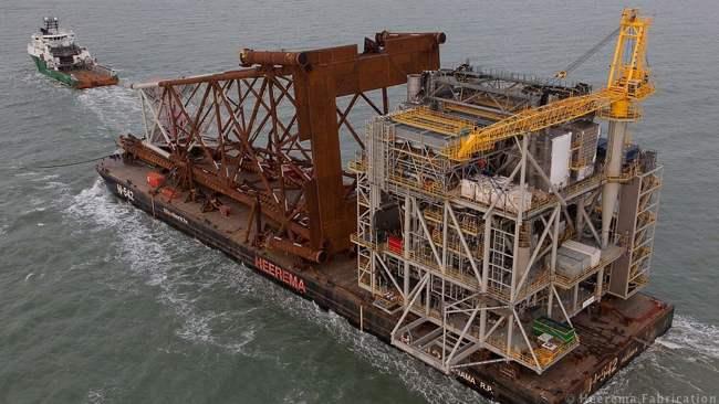 Marathon Oil Alba B3 Gas Compression Platform