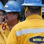 Offshore Drilling Crew From Noble Corporation