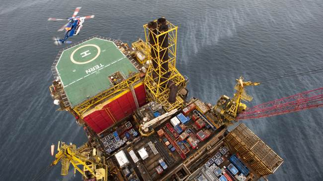 TAQA's Tern Platform Will Process Offshore Oil From The Subsea Cladhan Field