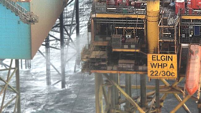 The Uncontrolled North Sea Gas Leak At Total Elgin Platform, 2012
