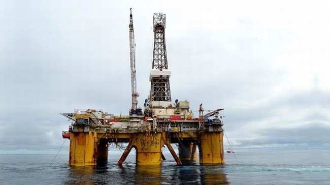 Transocean Offshore Drilling Rig, The John Shaw