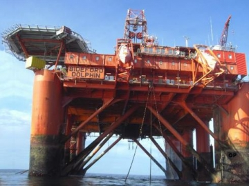 Bideford Dolphin Offshore Drilling Rig - Bideford Dolphin To Drill Offshore North Sea For Statoil