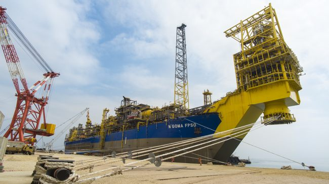 ENI N'Goma FPSO, Angola Deep Offshore First Oil Production At ENI Offshore Mpungi Field