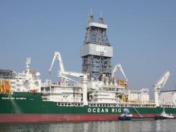 Ocean Rig Olympia Offshore Drillship - Ocean Rig Lose Offshore Drilling Contract With ENI