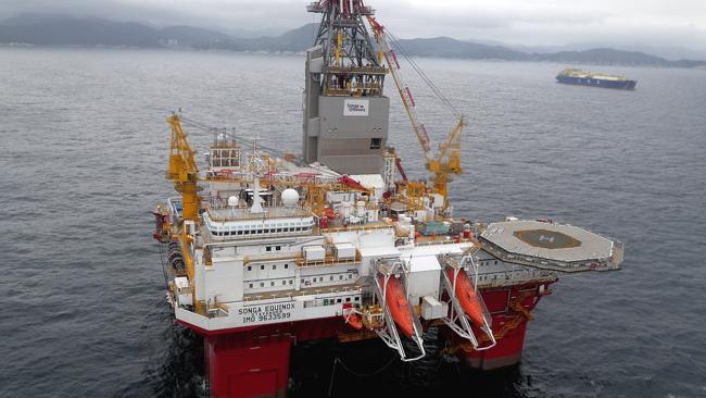 Drifting Songa Rig Forced To Cut Drillstring - Songa Equinox Offshore Drilling Rig