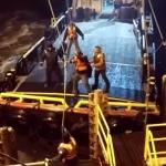 The Tarzan Offshore Crew Change - © Frankie Nauta