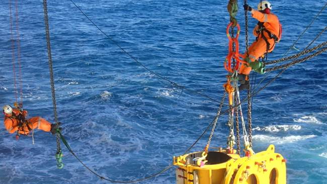 PREZIOSO Linjebygg Wins BP Offshore Work
