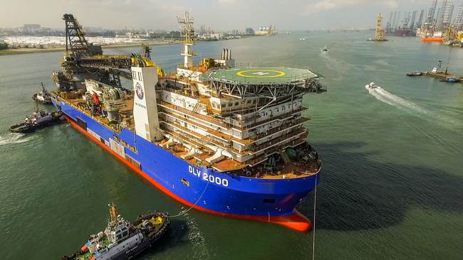 Major Awards For New McDermott Flagship Vessel