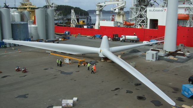 NorSea Wins World's First Floating Wind Farm Contract