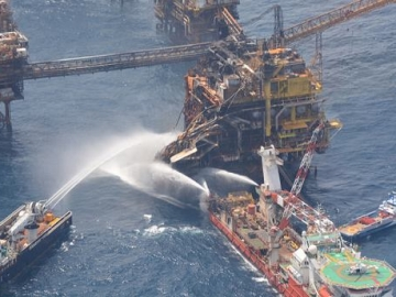 Three Killed Eight Injured In Offshore Platform Fire