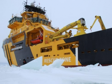 World's First IMO Polar Code Vessel Magne Viking