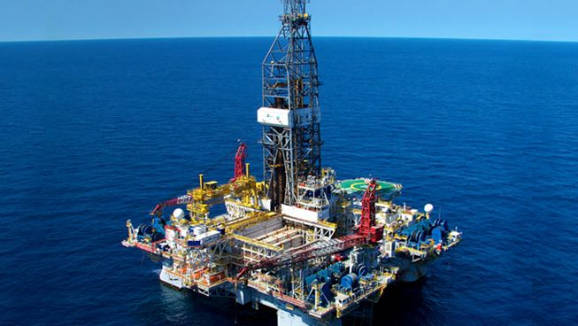 Offshore Oil Rig : Offshore drilling rigs exchanged by woodside post