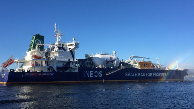 First US Shale Gas Arrives In Europe